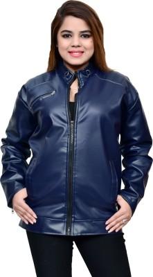 WiseWolf Full Sleeve Solid Women Jacket