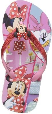 Minnie Girls Slip On Slipper Flip Flop(Pink) at flipkart