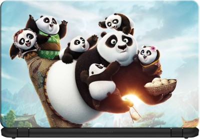 doodad Panda Fun Premium Vinyl Laptop Decal 15.6