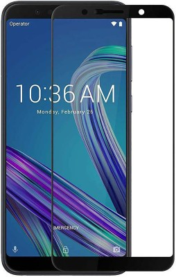Naccessory Edge To Edge Tempered Glass for 6D-ASUS ZENFONE MAX M1(Pack of 1)