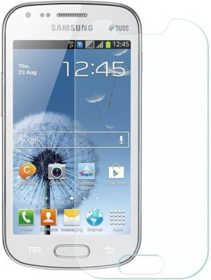 TRENDING GURUJI Tempered Glass Guard for Samsung Galaxy S Duos 7562(Pack of 2)