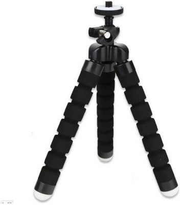 FU4 STYLE MINI ADJUSTABLE FLEXIBLE TRIPOD SELFIE STICK (MULTI COLOR) Tripod (Multicolor, Supports Up to 6) Tripod(Black, Supports Up to 250 g)