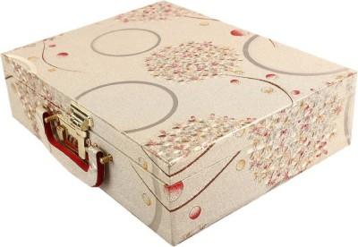 na purse Bangle Box Three Roll With Lock in Hard Board Makeup Vanity Box (gold) 2022 Vanity Box(Gold)