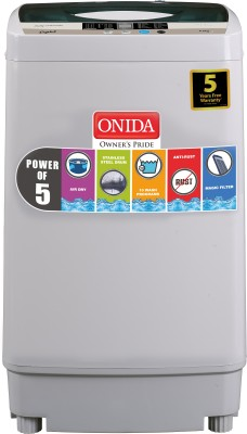 Onida 6.2 kg Fully Automatic Top Load Washing Machine Grey(T62CGN / CRYSTAL 62) (Onida)  Buy Online