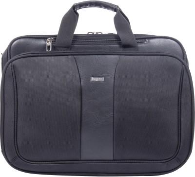 Bugatti 6ZHM4KS2H3IE Laptop Bag(Black)