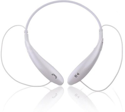 ALAFi Best HBS800 Headphone Bluetooth Wireless a7 With Ultra Deep Bass Bluetooth Headset(White, Black, Wireless in the ear)