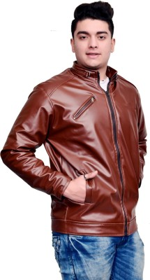 ANUPAM Full Sleeve Solid Men Jacket