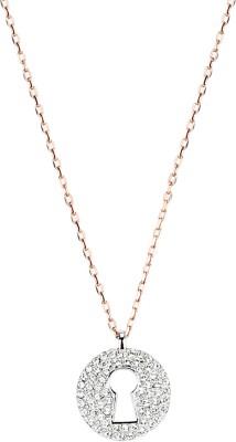 Swarovski Metal Necklace at flipkart