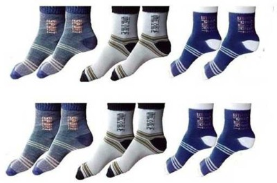YOUR SHOPPING STORE Men Ankle Length(Pack of 6)