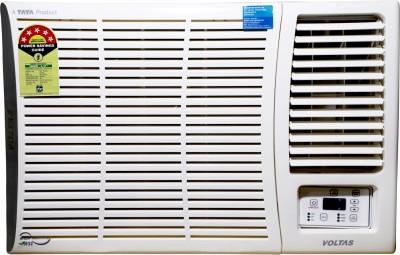 Voltas 1.5 Ton 5 Star Window AC  - White(WAC 185 DZA (R32), Copper Condenser)
