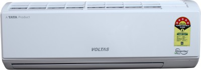 Voltas 1.2 Ton 5 Star Split Inverter AC - White(155V DZW (R32), Copper Condenser)