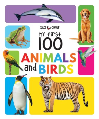 My First 100 Animals & Birds  (English, Hardcover, unknown)