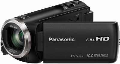 Panasonic Video Camera HC-V180K Full HD Camcorder with Stabilized Optical Zoom Camcorder(Black)