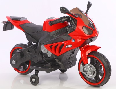 Toy House Bike with Rechargeable battery operated Ride-on for kids(2 to 5yrs),Red Bike Battery Operated Ride On(Red) at flipkart