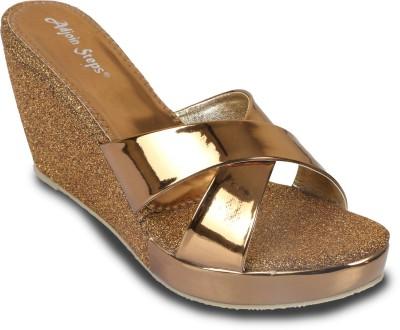 Adjoin Steps Women Copper Wedges
