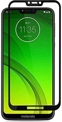 BlackBug Tempered Glass Guard for Moto G7 Power (Black) Screen Protector,Screen Guard,(Clear HD) 0.3mm, 2.5D(Pack of 1)