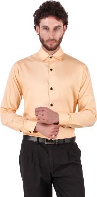 Royal Attire Men Solid Formal White Shirt