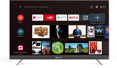 Micromax 139 cm (55 inch) Ultra HD (4K) LED Smart Android TV(55TA7000UHD)