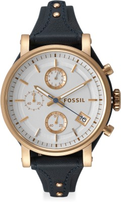 Fossil ES3838I OBF Analog Watch - For Women