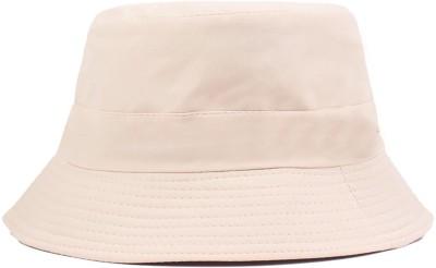 ZACHARIAS Fishermen Cotton Bucket Hat Cap(Fawn, Pack of 1)
