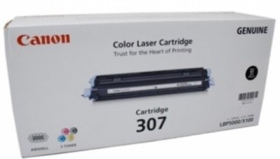 Canon 307 BK Single Color Ink Toner(Black)
