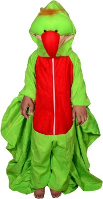Anmol Dresses AD Parrot Costume for Kids Age 04-10   high Quality Material Use for School competitions, Events, Annual Functions. Kids Costume Wear
