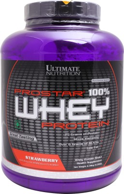 Ultimate Nutrition Prostar 100% Whey Protein (2.39Kg, Strawberry