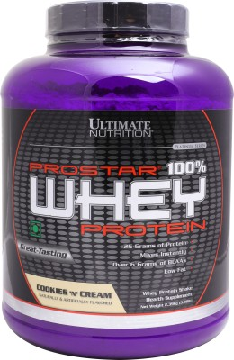 Ultimate Nutrition Prostar 100% Whey Protein (2.39Kg, Cookies and Cream)