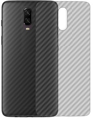 Marshland Back Screen Guard for Smart Looking Back Screen Protector, Back Screen Guard Flexible Designer, oneplus 6t (Transparent)(Pack of 1)