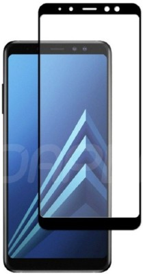 GBKS Tempered Glass Guard for SAMSUNG GALAXY A6 PLUS ,6D TEMPERED GLASS(Pack of 1)