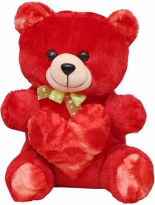 Ktkashish Toys Red Color Cute Teddy Bear 45 cm   13 inch Red Ktkashish Toys Soft Toys