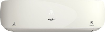 View Whirlpool 1 Ton 3 Star BEE Rating 2018 Inverter AC  - White(3D COOL Inverter 3S COPR, Copper Condenser) Price Online(Whirlpool)