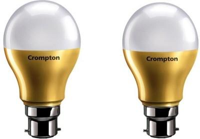 Crompton 9 W Standard B22 LED Bulb  (White, Pack of 2)