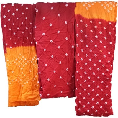 AZAD DYEING Pure Cotton Dyed Salwar Suit Material(Unstitched)