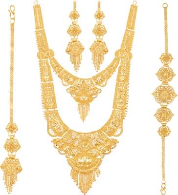Mansiyaorange Alloy Jewel Set(Gold)