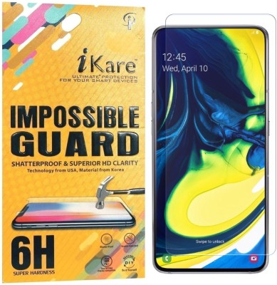 iKare Impossible Screen Guard for Samsung Galaxy A80(Pack of 1)