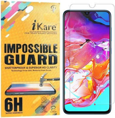 iKare Impossible Screen Guard for Samsung Galaxy A70, Samsung Galaxy A70S(Pack of 1)