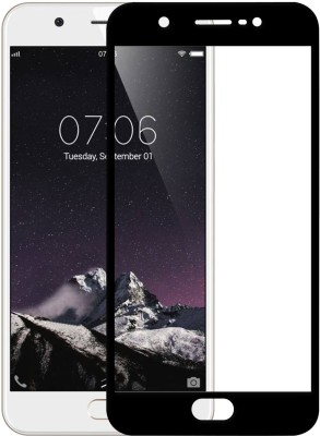 SLASH Edge To Edge Tempered Glass for Vivo Y69 Effect Protective Black Tempered Glass(Pack of 1)