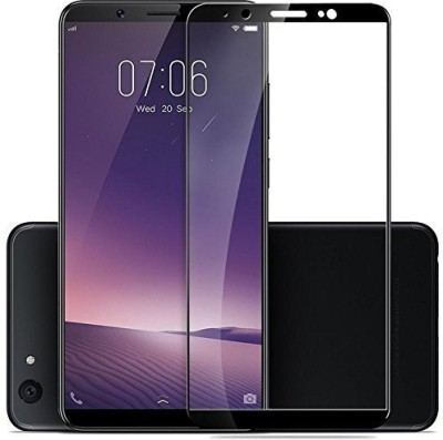 AtoZ accessories Edge To Edge Tempered Glass for Vivo V7 Plus 2.5D Curved edge(Pack of 1)
