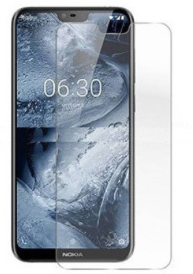 SAMARA Tempered Glass Guard for Nokia 6.1 Plus(Pack of 1)