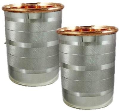 Inspiration World INS5181520wd Glass Set(Copper, Steel, 150 ml, Steel, Pack of 2) at flipkart