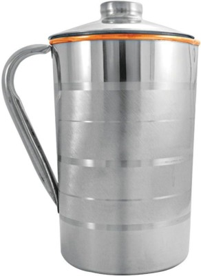 Saanvi Creations 1 L Water Jug Copper, Steel