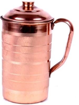 Rastogi Handicrafts 1.5 L Water Jug Copper Rastogi Handicrafts Pitchers