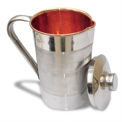 Veda Home   Lifestyle 1 L Water STEEL COPPER LUXURY JUG 1 L Jug Copper, Steel Veda Home   Lifestyle Pitchers