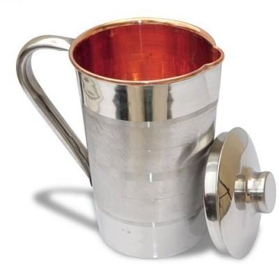 Best Utensils India 1.6 L Water steel copper jug Jug Steel, Copper