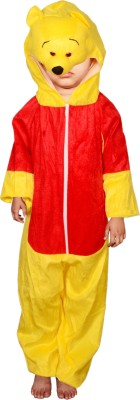 Anmol Dresses AD Pooh Fancy Dress for Kids  Pooh Costumes   high Quality Material Use for School competitions, Events, Annual Functions. Kids Costume Wear