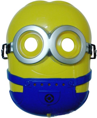 Party Zoom Minions Mask Party Mask Yellow, Pack of 1