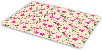 FIMS Floral design Mousepad| Designer Mousepad | Printed-84 Mousepad(Multicolor)