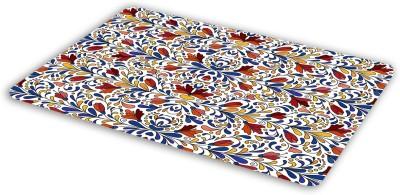 FIMS Floral design Mousepad| Designer Mousepad | Printed-66 Mousepad(Multicolor)