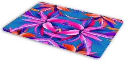 FIMS Floral design Mousepad| Designer Mousepad | Printed-96 Mousepad(Multicolor)
